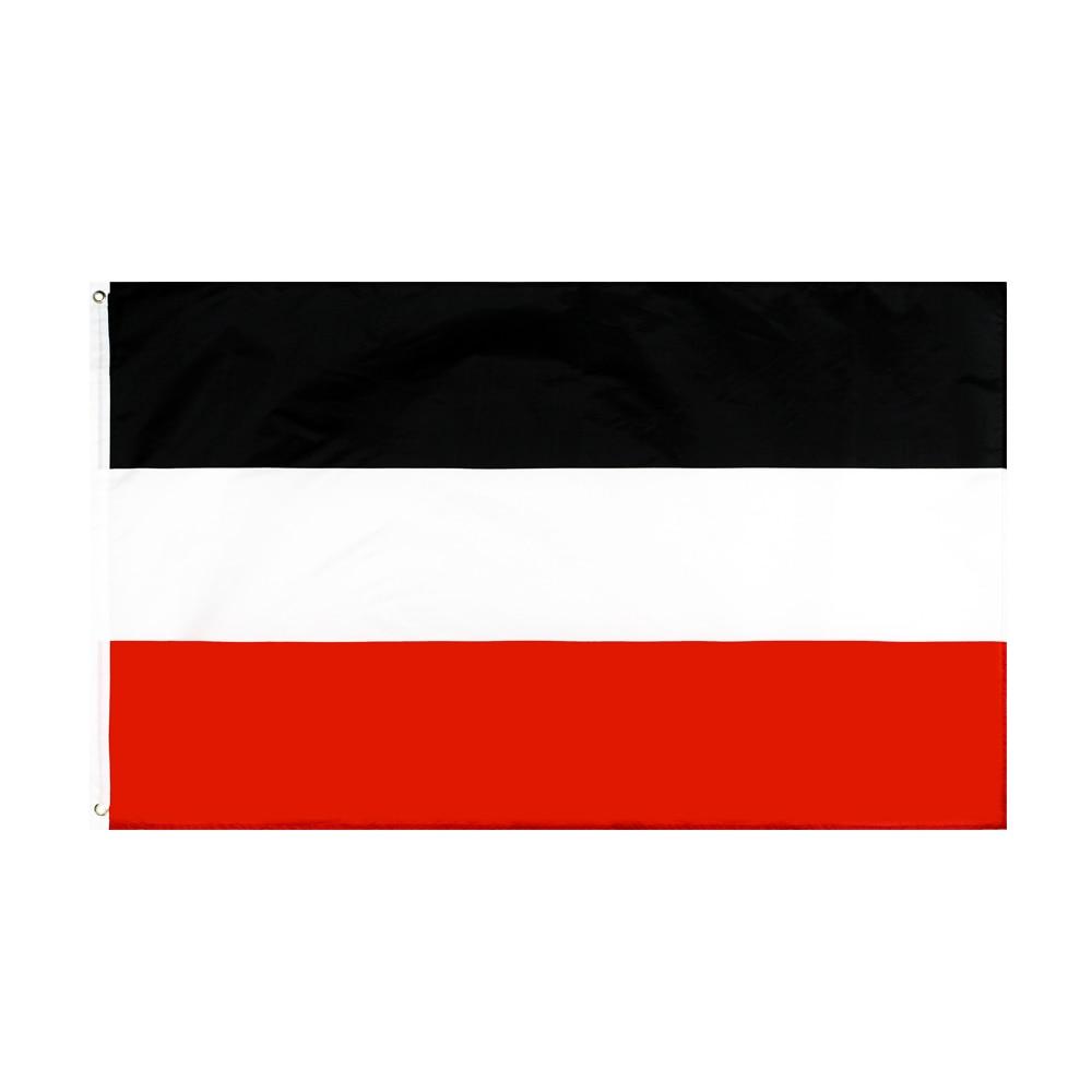 WN 60X90 90X150cm Black White And Red Merchant North German Confederation Flag