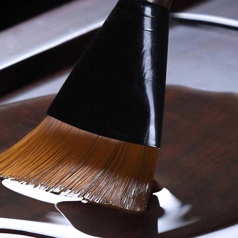 Schwarz Sandelholz Tee Pinsel Nicht Fallen Haar Sweep Tee tablett Sauber Wasser Waschen Tasse Stift Kung Fu Tee Tablett Zubehör