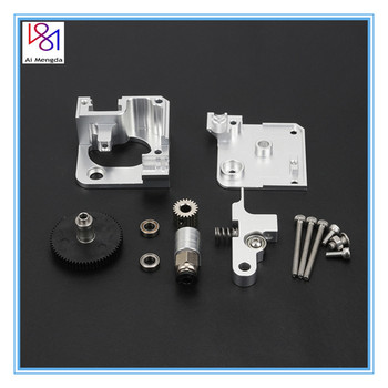 3D printer metal Titan Aero Extruder 1.75mm for Prusa i3 MK2 3D printer for both Direct Drive And Bowden Mounting Bracket mellow all metal nf crazy hotend v6 copper nozzle for ender 3 cr10 prusa i3 mk3s alfawise titan bmg extruder 3d printer parts