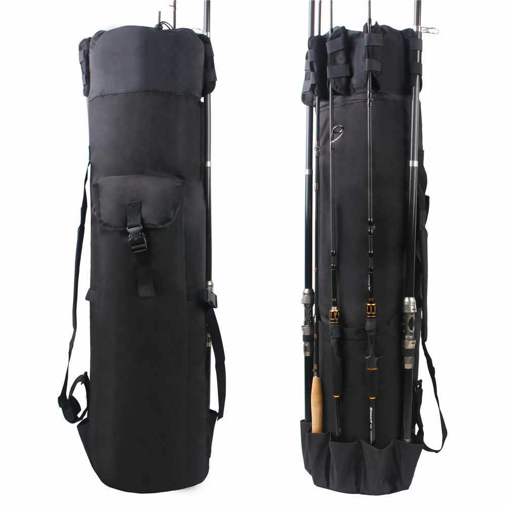 תכליתי דיג שקיות מוט תיק Pesca Carrier דיג מוט כלים מקרה ניילון עמיד למים שקיות עבור דיג סליל הילוך כלים