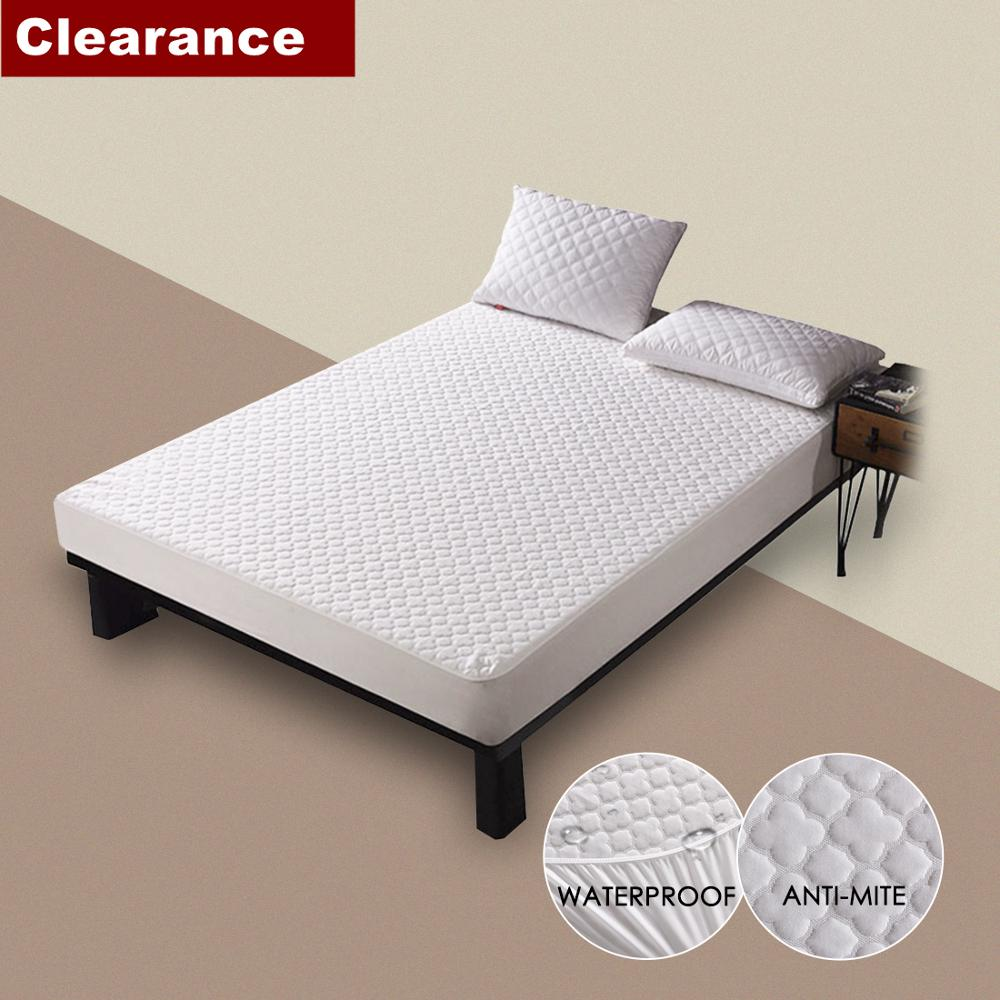Beautiful Clouds Anti-mite Waterproof Mattress Cover Breathable Protection For Bed Wetting&Bed Bug Hypoallergenic Clearance Sale