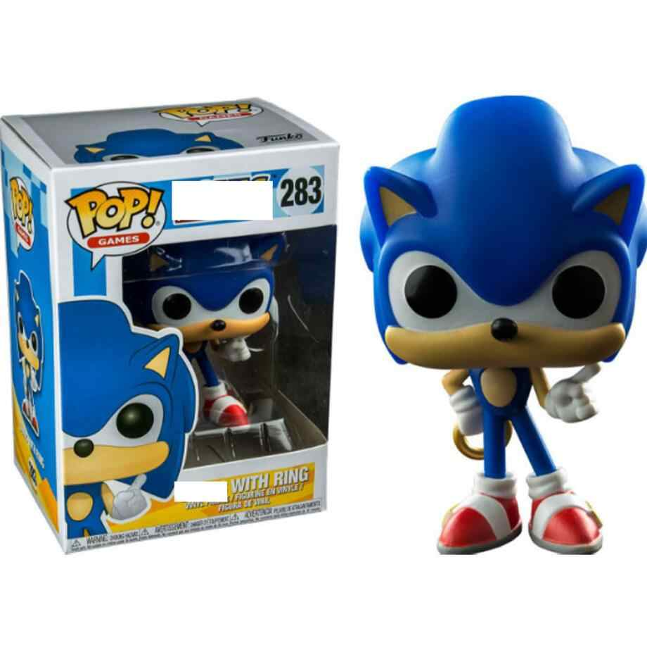 Funko Pop Super Sonic Sonic With Ring Emerald Shadow Collectible Model 2020 Action Figure Kids Toys Aliexpress