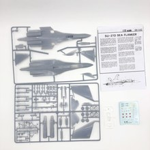 Airplane Assembly Fighter-Toy Static-Model SU-27D 1:72 00102 Flanker-Jet Hobby DIY Sea