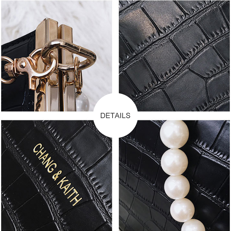 Women s Evening Bag for Women 2019 Ladies Handbag Crossbody Shoulder Bag Hand Bags with Pearl bolsa feminina bolso mujer in Shoulder Bags from Luggage Bags