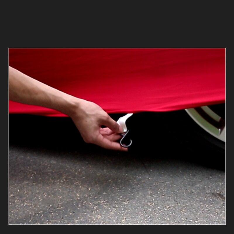 Housse de Protection complète de carrosserie en velours pour accessoires Porsche Macan 911 918 718 - 5