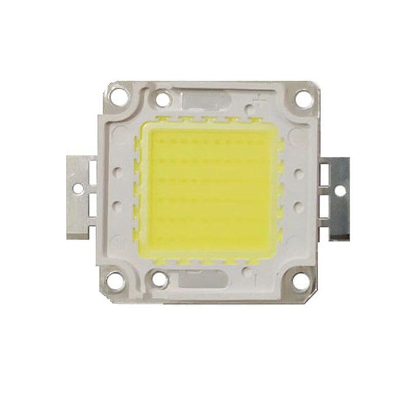 Matriz de luz led cob integrado chip de lâmpada diy led holofotes ao ar livre alta potência 20w 30 50 70 100 branco vermelho verde