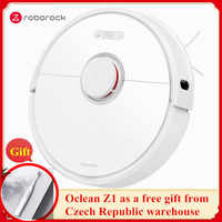 Roborock S6 2000PA Robot Vacuum Cleaner Automatic Sweeping Mopping Dust Sterilize Smart Planned Machine Remote Control Cleaner