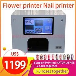 Машина для печати ногтей с экраном и компьютером внутри самая популярная в 2018 году