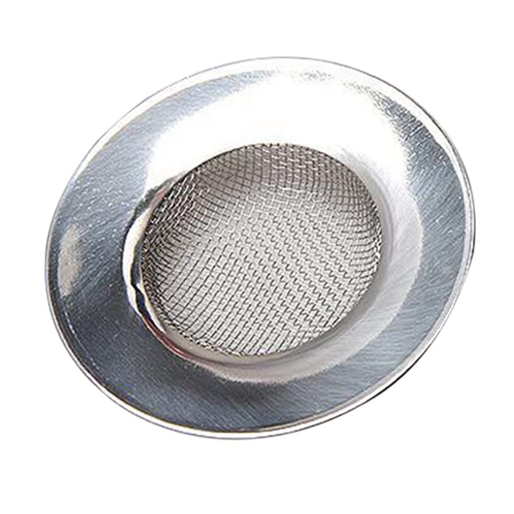 Sink Strainer For Shower Plug Hole Hair Catcher Bath Or Kitchen Sinks Stainless Steel Sink Drain 7.5Cm Sale