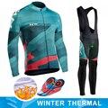 Northwave Warme 2019 NW Winter Thermische Fleece Radfahren Kleidung NW herren Jersey Anzug Outdoor Reiten Bike MTB Kleidung Bib hosen Set