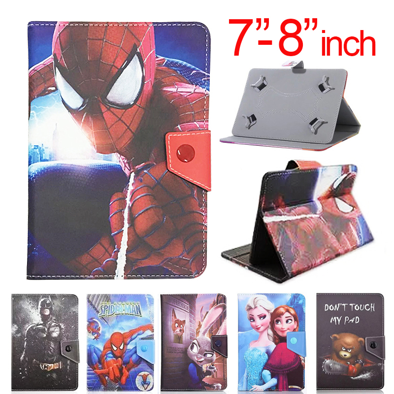 Universal Cover For Huawei Mediapad T3 8.0 Kob-L09 Kob-W09 8 Inch Tablet PU Leather Stand Case For Mediapad M5 8.0\