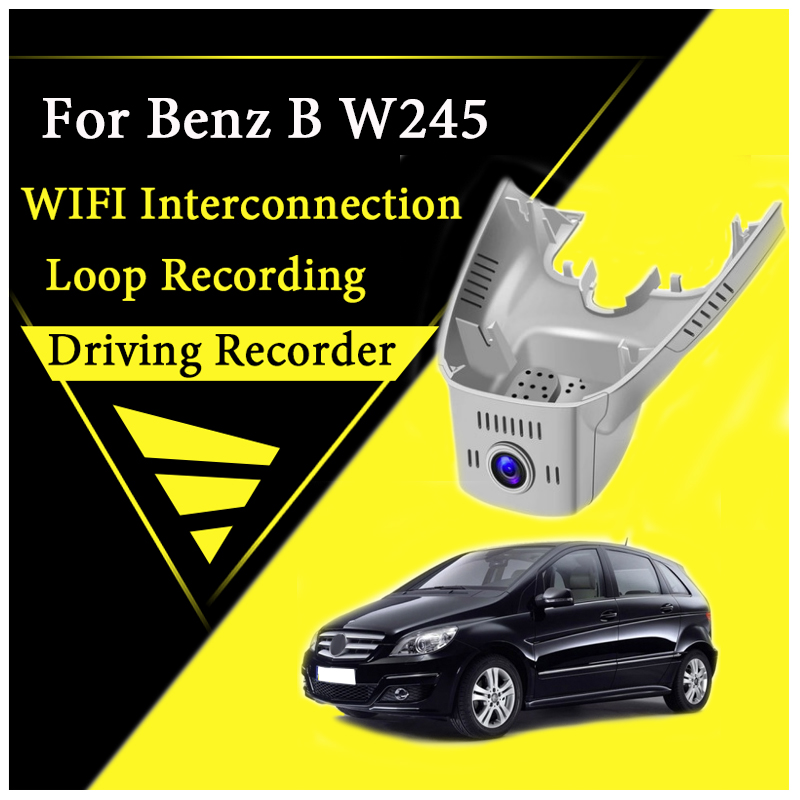 For <font><b>Mercedes</b></font> Benz MB <font><b>B</b></font> Class W245 MK1 2005~2011 Car Road Record WiFi DVR Dash Camera Driving Video Recorder image