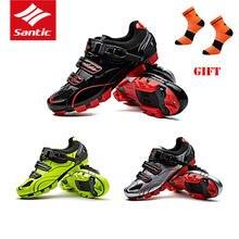 Santic mtb велосипедная обувь Мужская pro racing для горного