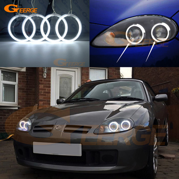 For MG TF MGTF 2002-2009 Excellent Ultra bright headlight illumination ccfl angel eyes kit Halo Ring for ford c max mki 2008 2009 2010 xenon headlight excellent angel eyes ultra bright illumination ccfl angel eyes kit halo ring