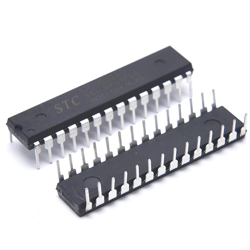 Original In Stock Stc12c5608ad-35i-skdip28 Stc12c5608ad Dip-28
