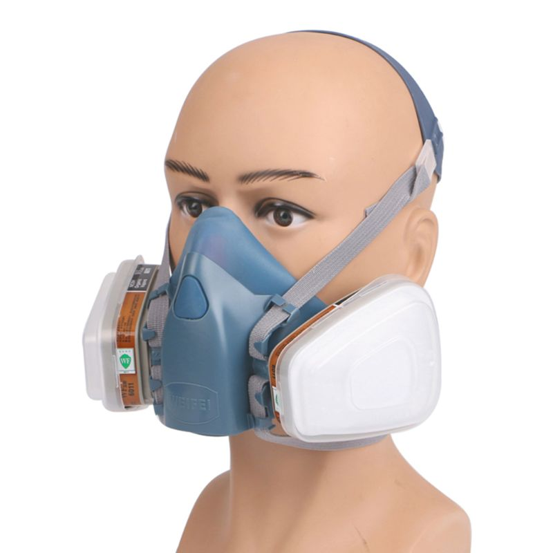3M 7502 6003 7Piece Suit Respirator Painting Spraying Face Gas Mask 5n11 501
