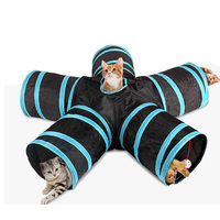cat-tunnel-multi-holes-pet-cats-tunnel-chat-toy-jouet-chat-interactive-ball-cats-toys-playing-indoor-outdoor-tunnels