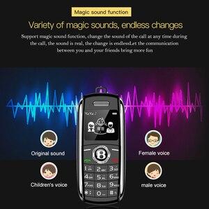 Image 3 - Mini Trình Quay Số Bluetooth Magic Tiếng Nói Một Khóa Đầu Ghi Celular Dual Sim Kiêm Nhỏ Điện Thoại Di Động Tiếng Nga