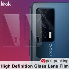 Imak câmera lente filme para vivo iqoo neo 5 neo5 câmera traseira len protetor de vidro temperado proteção