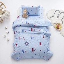 Bedding-Set Duvet-Cover for Newborns Cartoon Bed-Sheet Pillow-Case Baby Children's 100%Cotton