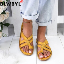 Gladiator Sandals Women Comfy Slippers 2020 Fahion Roman Wed