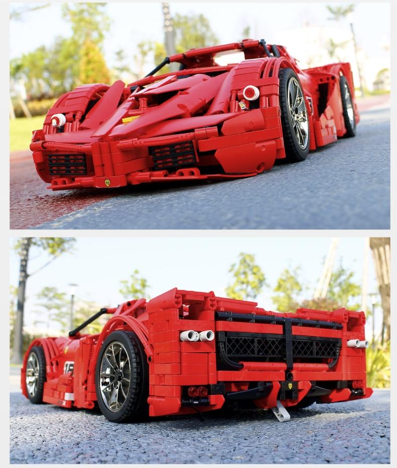 MOULD KING MOC 13085 Compatible 5889 Ferrari FXX F40 Enzo Building Block (2172 PCS) 16