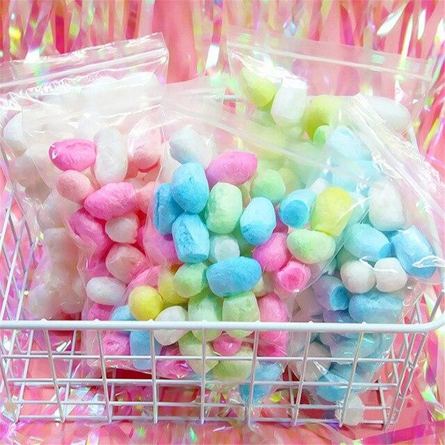 Bricolage moelleux morceau remplissage breloques tout pour Slime additifs tranches Slime moelleux contient Slimes mousse perles décor enfants jouets pour les enfants