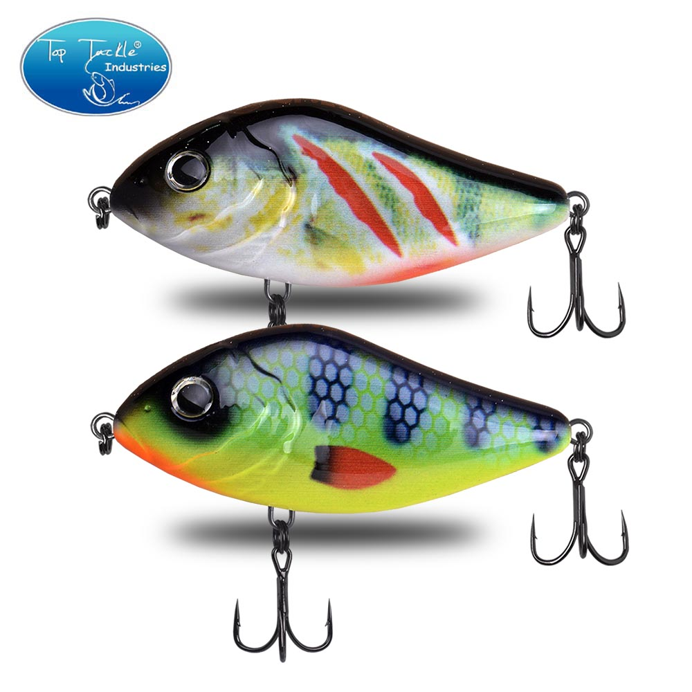 100mm 49g CF LURE New Hot Jerk Baits Slow Sinking Fishing Lure Tackle For Pike Pesca Bass Musky Jerk Baits Qulity Hooks