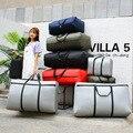 Прочная движущаяся сумка из ткани Оксфорд, водонепроницаемая портативная вместительная сумка для одеял, толстая очень большая холщовая пл...