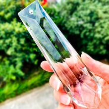 Drop-Faceted-Prism Suncatcher Garland Hanging Crystal Happy-Decor 150mm for Events Diy