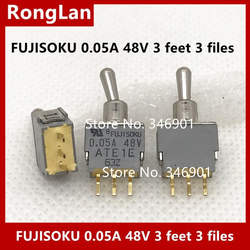 [SA] Fujitsu FUJISOKU 0.05A 48V 3 фута 3 файла миниатюрные тумблеры тумблер-10 шт./лот