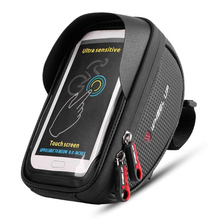 Waterproof Bicycle Bags Bicycle Front Touch Screen Phone Bag 6 inch Mountain Bike Tube Bag Cycling Pannier Bag For Bicycle front touch screen bike phone rainproof bag for bicycle handlebar cycling bag phone case bicycle bag mtb pannier bicycle