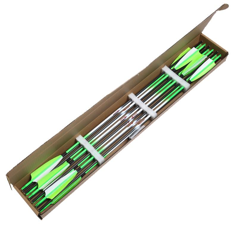 de carbono puro espinha 300-600 id6.2mm 30