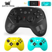 цена на DATA FROG Bluetooth Wireless Controller For Nintend Switch Pro Game Console Joystick Vibration Gamepad for Nintend Switch Lite