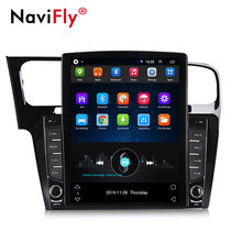 Navifly 9.7 inch Tesla style Android For VW Volkswagen Golf 7 video Car radio multimedia player navigation gps No 2 din DVD(China)