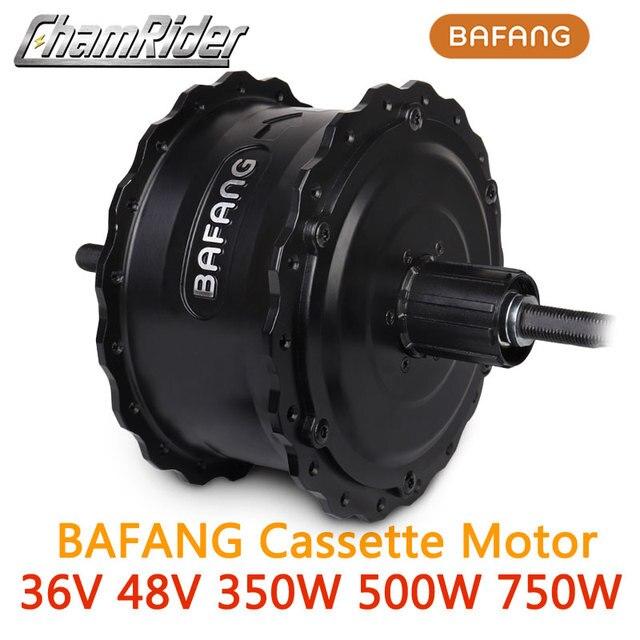Bafang Fatbike Freehub 48V 350W 500W 750W 8FUN e bike yüksek hızlı fırçasız dişli Hub motor tekerlek kaset RM G060.350.DC 175 190