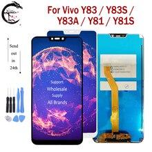 """6.22 """"LCD עבור Vivo Y83 / Y83S / Y83A / Y81 / Y81S LCD תצוגת מסך מגע חיישן Digitizer הרכבה Y83 Y81 תצוגת מלא LCD"""