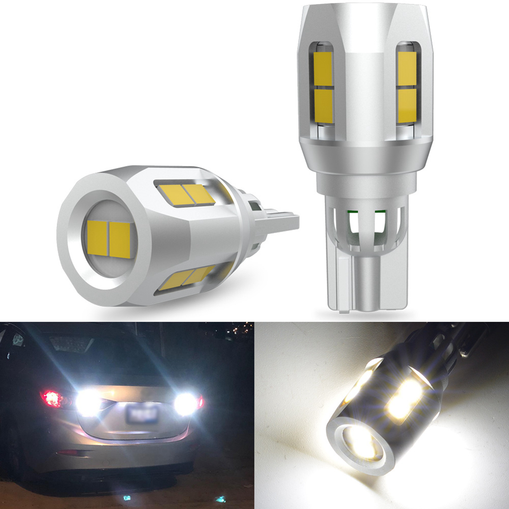 2x 1200LM W16W T15 светодиодный светильник Canbus для заднего хода, стояночный фонарь 6500K для Toyota C-HR Corolla Ford Focus Honda Civic