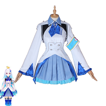 Hololive VTuber GAMERS YouTuber Lize Helesta Cosplay Costumes Women Cute Dress Top Skirts Coat Halloween Uniforms Custom Made 1