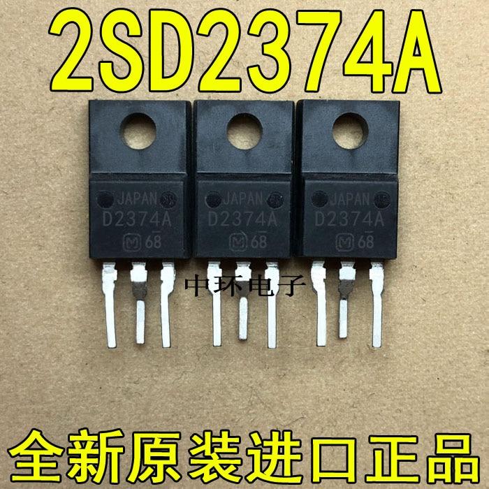 10pcs/lot D2374A 2SD2374A TO-220F 3A 80V