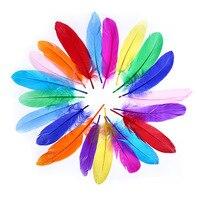 Kindergarten Handmade Color Feather DIY Decoration Accessories Children Creative Fine Art Curriculum for Making Material