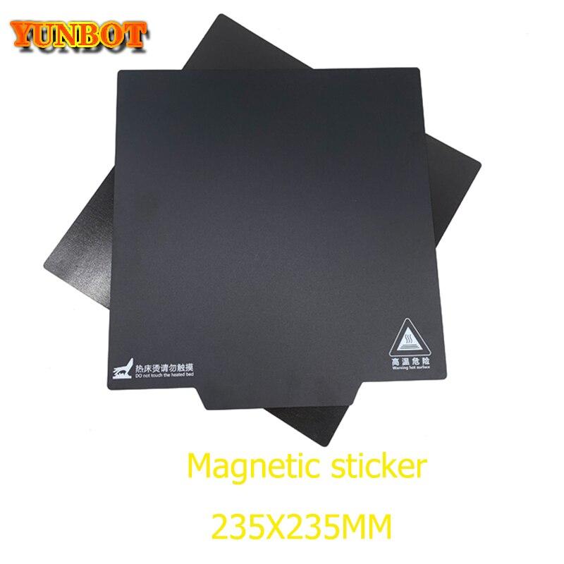 3d printer Accessories 3D Ender 3 Ender 5 Ender 3 PRO Black Magnetic Build Surface Plate