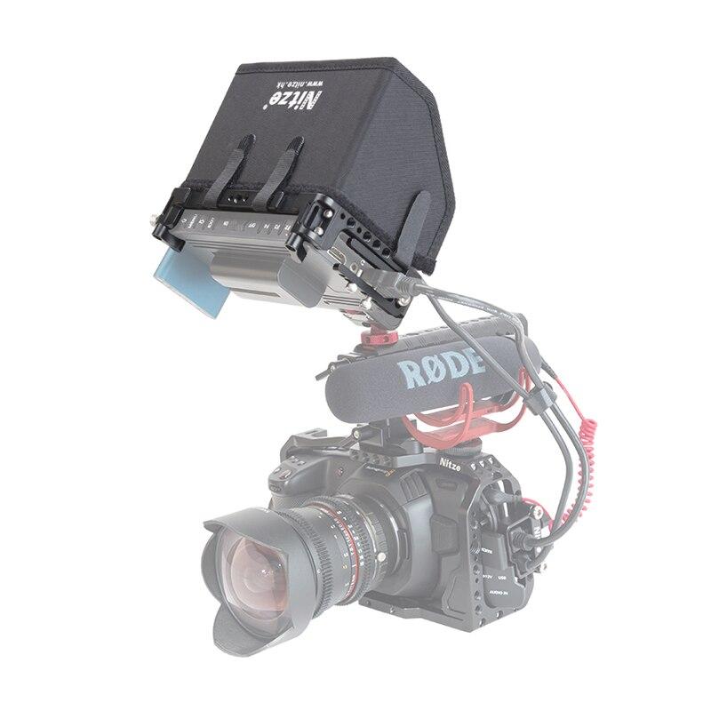 lh5h câmera dslr campo monitor gaiola protetora