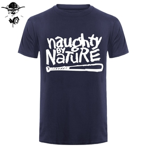 Naughty By Nature Old School Hip Hop Rap Skateboardinger Music Band 90s Bboy Bgirl T-shirt Black Cotton T Shirt Top Tees(China)