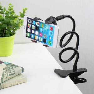 Universal Lazy Holder Arm Flexible Mobile Phone Stand Stents Holder Bed Desk Table Clip