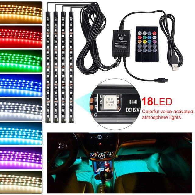 RGB LED Strip Lights Music Reactive 1