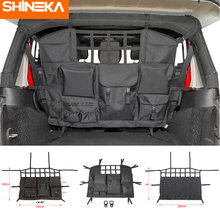 Сумка shineka для хранения и поддержания порядка jeep wrangler
