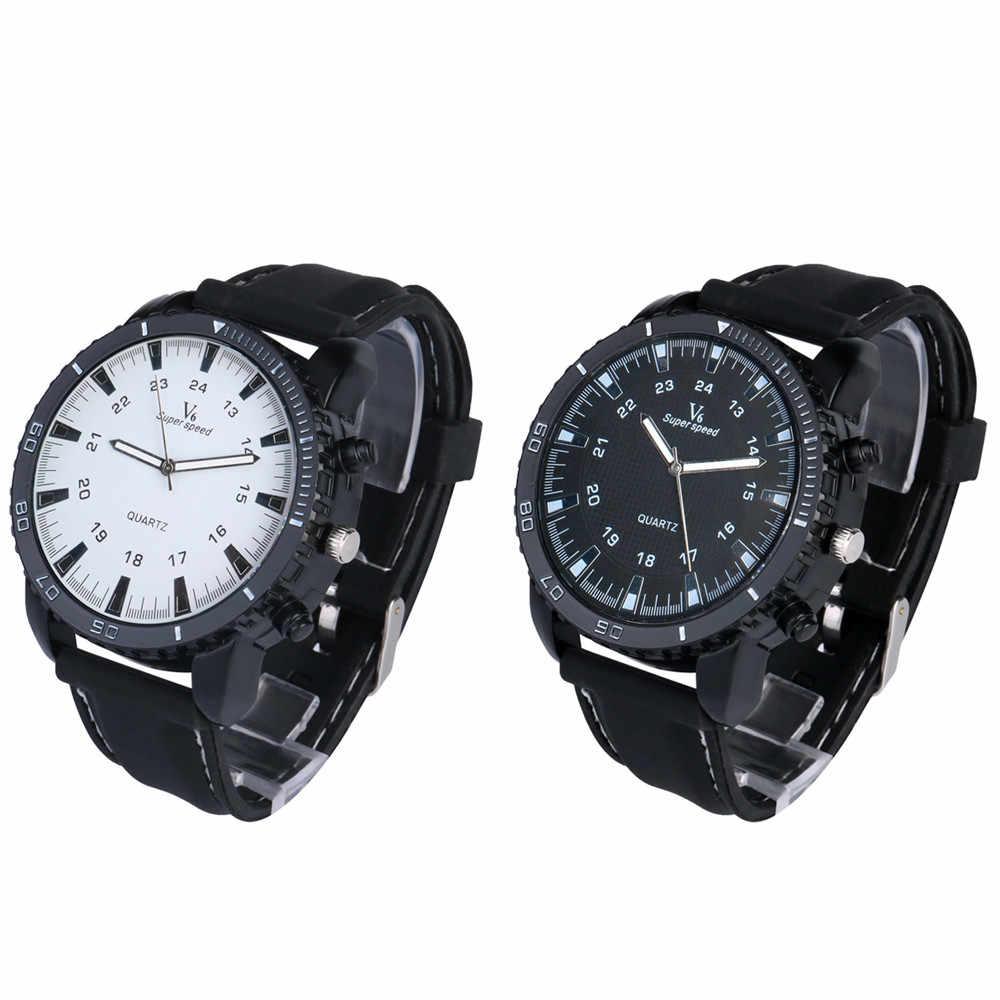 2019 男性は高級屋外スポーツV6 軍事腕時計シリコーンクォーツ時計男性時計レロジオmasculino