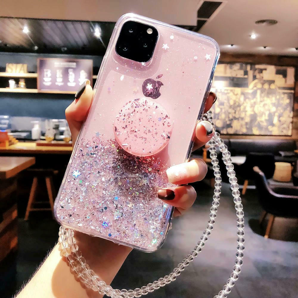Bling Glitter Standing Case For iPhone Models Plus Slim Case With Stand Holder 23