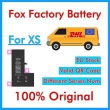 BMT – 5 batteries dorigine Foxc pour téléphone XS, 2658mAh, pièces de rechange, (ne montrera pas létat de santé à 100%)